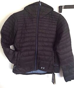 a1d08cd66 NWT Womens UA Under Armour Four Pines Down Jacket S Small Stealth ...