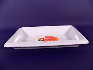 Cook & Serve por Vista Alegre Blanco Rectangular Plato Horno a Vajilla