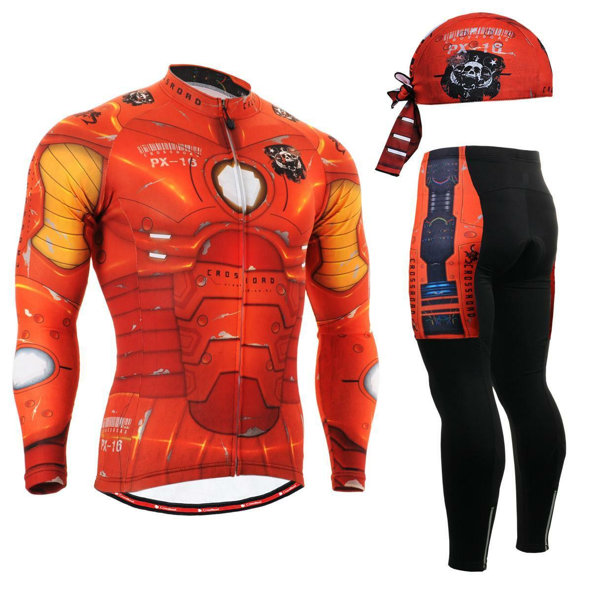 FIXGEAR CS-801 SET Cycling Cycling Cycling Jersey & Padded Pants,MTB Bike,BMX,Beanie Free GIFT afbedc