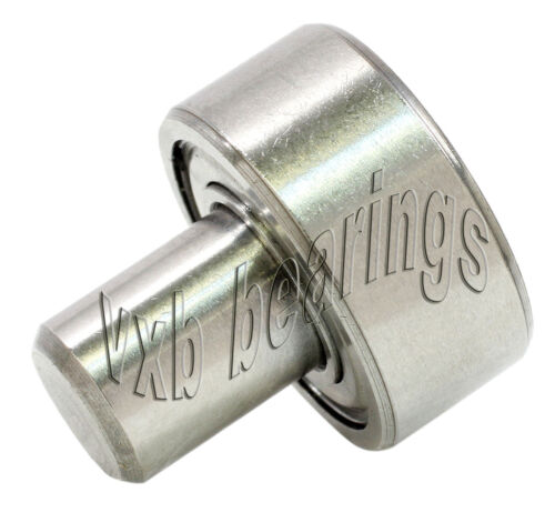 """1 1//8/"""" Inch Ball Bearing with 3//8/"""" diameter integrated 1/""""Long Axle Pin Steel Rod"""