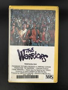 The-Warriors-Ex-Rental-Vintage-Big-Box-VHS-Tape-English-with-dutch-subs