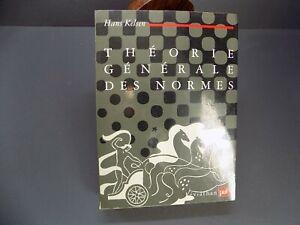 THEORIE-GENERALE-DES-NORMES-Hans-Kelsen-Philosophie-du-DROIT