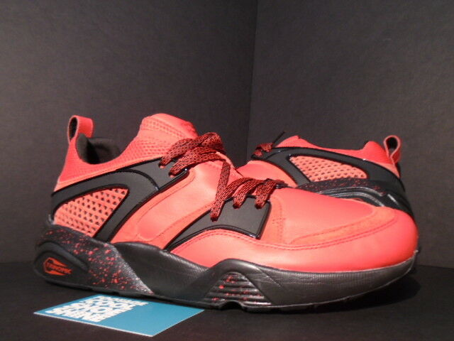 PUMA BLAZE OF GLORY BOG RED RISE YORK NEW YORK RISE IS FOR LOVERS BLACK 360999-01 NEW 11.5 096913