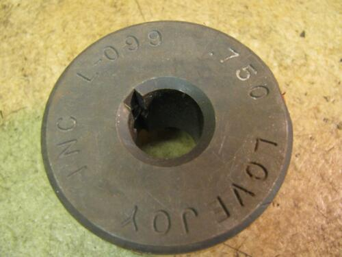 "Lovejoy L099 .750 3//4/"" Bore Motor Pump Coupler Coupling Jaw Hub Half"