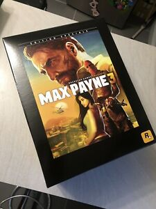 NEUF-NEW-figurine-coffret-collector-max-payne-3-PS3-xbox-360-sans-JEUX