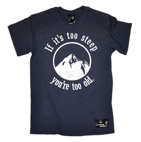 Men/'s Skiing T Shirts The perfect funny novelty Gift Ski Birthday T-Shirt Pt 2