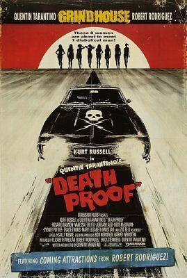 61cm x 91cm Deathproof Movie Poster 24inx36in