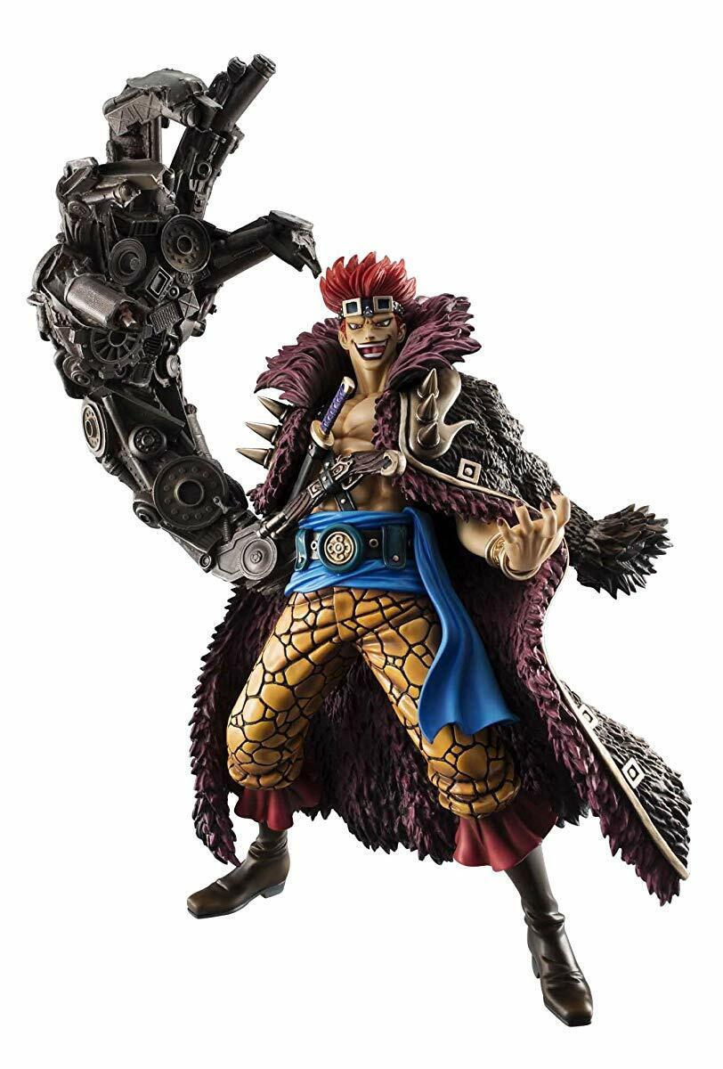 Megahouse One Piece Portrait Of Pirates NEO-MAXIMUM Captain Kid PVC Figure