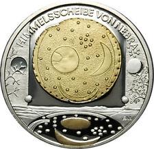 10 EURO Himmelsscheibe von Nebra 2008 PP Silber mit Goldapplikation