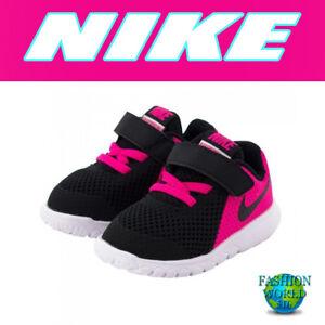 2853c9b143 Nike Toddler Size 7C Flex Experience 5 (TDV) Shoes 844993 Black/Pink ...
