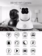Digoo BB-M2 Mini WiFi HD 720P Home Security Camera Wireless USB Baby Monitor IR