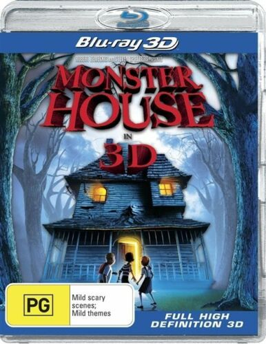 1 of 1 - Monster House 3D Blu-ray NEW & SEALED