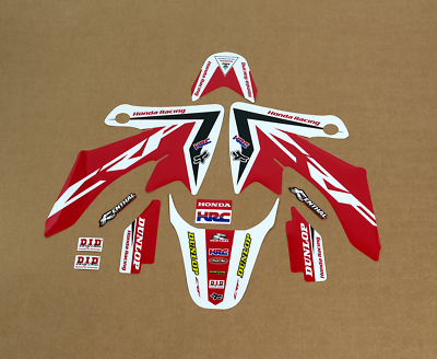 SCATTER Team Racing Graphics kit compatible with Honda 2013-2019 CRF 50