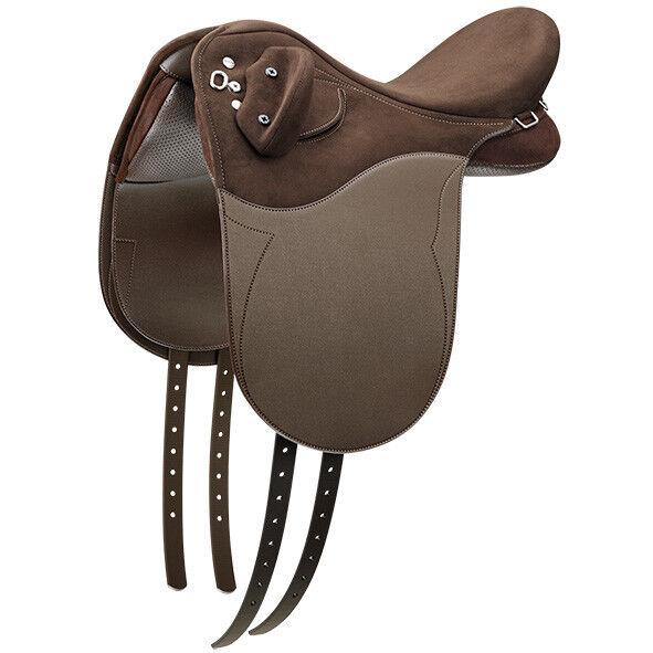 Wintec Pro Stock Junior Ajustable Pony silla CAIR sistema de aire Negro Marrón 12