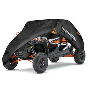 Double-Row-Seat-Cover-Utility-Vehicle-Storage-Fit-Polaris-RZR-XP-4-Turbo-S4-1000