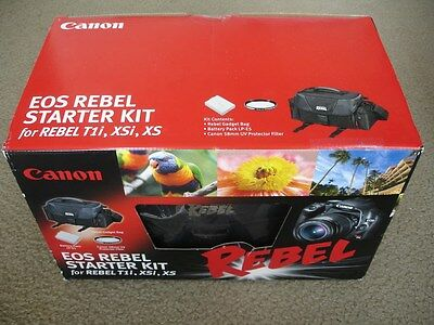 Brand New Canon EOS Rebel Starter Kit For Canon Rebel T1i /XSi /XS