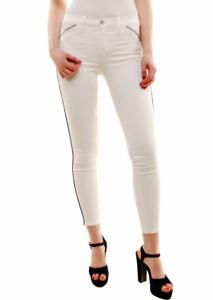 Neue Brand Bcf72 Damen 849c028 25 Weiß Röhrenjeans Größe 209 Uvp Jeans J £ 8OPn0wk