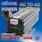 Power Inverter Continues 5000W / 10000W 12V-240V 5000W With Remote Control