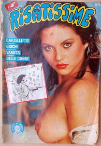 1985-n-10-RISATISSIME-Edilfumetto-Belle-Donne-Sexy-Erotica-erotic-barzellette