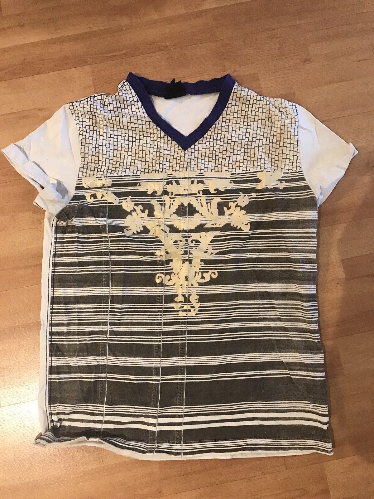 Authentic Just Cavalli T-shirt Mens Designer Tshirt