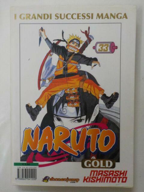 Naruto Gold DeLuxe n 33 Nuovo - con Sovracopertina De Luxe - COMPRO FUMETTI SHOP