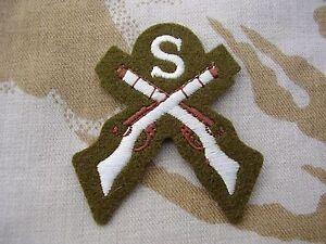 British-Army-PARA-SAS-RAF-RM-SBS-Dress-Jacket-Shirt-SNIPER-Sew-On-Patch-Badge