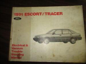 1991 FORD ESCORT/TRACER EVTM (WIRING MANUAL) | eBay