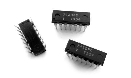 8-Input Positive NAND Gate 7430 IC 1 pcs 7430PC SN7430N