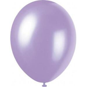 50-Lovely-Lavender-12-034-Latex-Balloons-Helium-Quality-Party-Wedding-Air-Fill