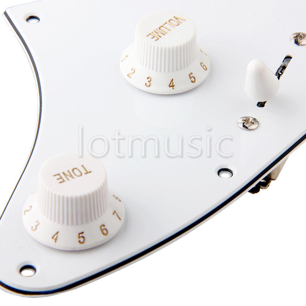 2 Prewired Loaded HH Pickguard Humbucker Pickup for Fender Strat ...