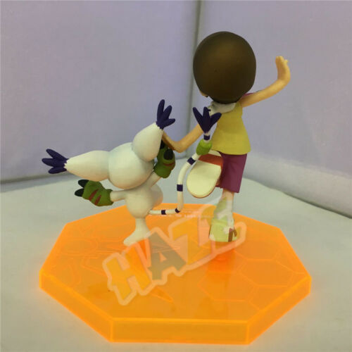 2pcs Digimon Gatomon Yagami Hikari Tailmon Digital Adventure PVC Figure Toy