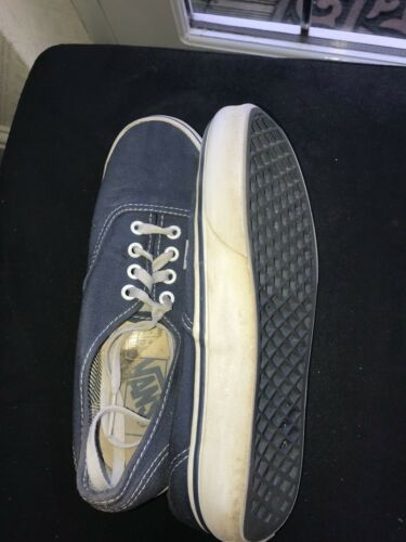 Wall' Navy Vans The Classic Laces 'of 4 Authentic Canvas Sneakers Shoes Uk wxYHWnr1xz