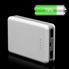5V Dual USB Power Bank Case Kit 3x18650 Battery Charger DIY Box For Cellphone 1A