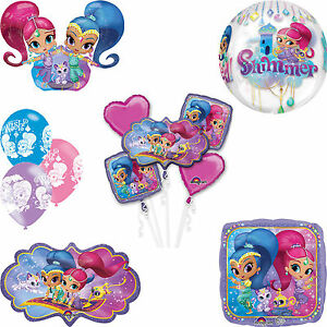 Shimmer Amp Shine Birthday Party Decorations Balloons Foil