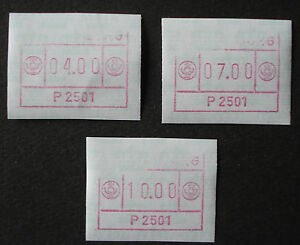 Sfs Ausgereifte Technologien Luxemburg 1983: Set Atm/variable Rate Stamps/frama Label Teildrucke -rare
