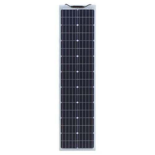 80 W Renforcé Étroit Panneau solaire flexible-Forte ETFE Revêtement /& German cellules
