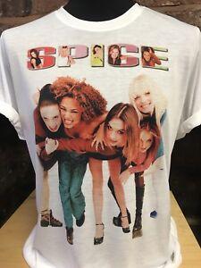 Spice-Girls-T-Shirt-men-039-s-women-039-s-sizes-S-XXL-90s-Retro-Tour-Reunion-2019