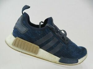 ADIDAS-NMD-R1-Blue-Sz-11-5-Men-Primeknit-Sneakers