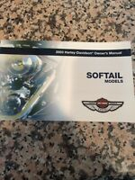 Harley Davidson 2003 100th Anniversary Owners Manual For Softail Models -new