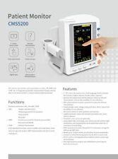 7 Tft Color Lcd Touch Icu Ccu Vital Signs Patient Monitor Nibp Spo2 Pr Temp Ce