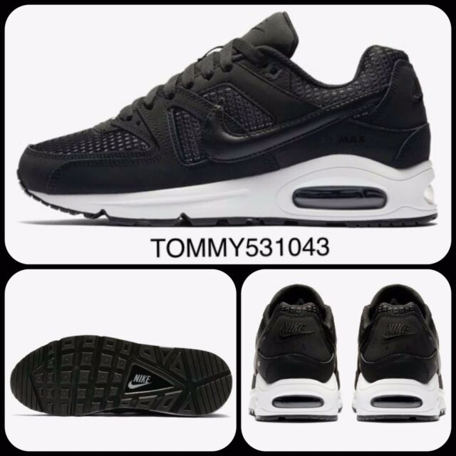 Nike Air Max Command Women's Shoes Trainers Black UK 4.5 EUR 38 US 7