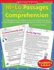 Hi/Lo Passages to Build Reading Comprehension Grades 4-5: 25 High-Interest/Low Readability Fiction and Nonfiction Passages to Help Struggling Readers Build Comprehension and Test-Taking Skills by Michael Priestley (Paperback / softback)