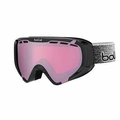 Bolle Y6 OTG Shiny Double Lens Ski Snow Goggles Anti-Fog Unisex UV MEDIUM//LARGE
