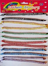12x Armbänder Armketten für Kinder-Mädchen in verschiedenen Farben Neu