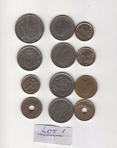 SPANISH COINS 12 COINS ASSORTED VALUES lot1  reduced start price - ST AUSTELL, Cornwall, United Kingdom - SPANISH COINS 12 COINS ASSORTED VALUES lot1  reduced start price - ST AUSTELL, Cornwall, United Kingdom