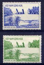 VIETNAM, SOUTH Sc#242-3 1964 Hatien Beach MNH
