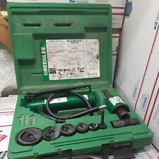 Greenlee Tool 7306sb 12 2 Slugbuster Hydraulic Knockout Set Ed4u9000