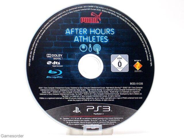 PUMA AFTER HOURS ATHLETES - MOVE ERFORDERLICH - (DISC) ~Playstation 3 Spiel~