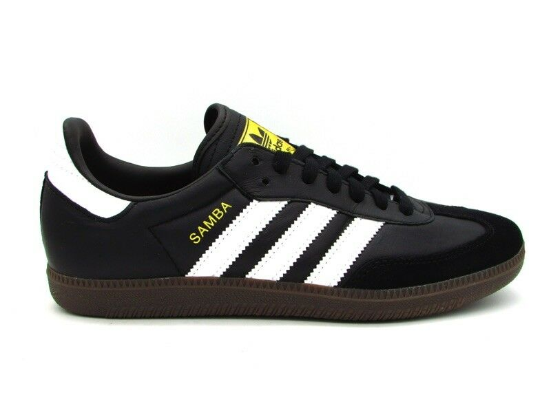 ADIDAS SAMBA FB SNEAKERS BLACK WHITE BROWN CQ2094