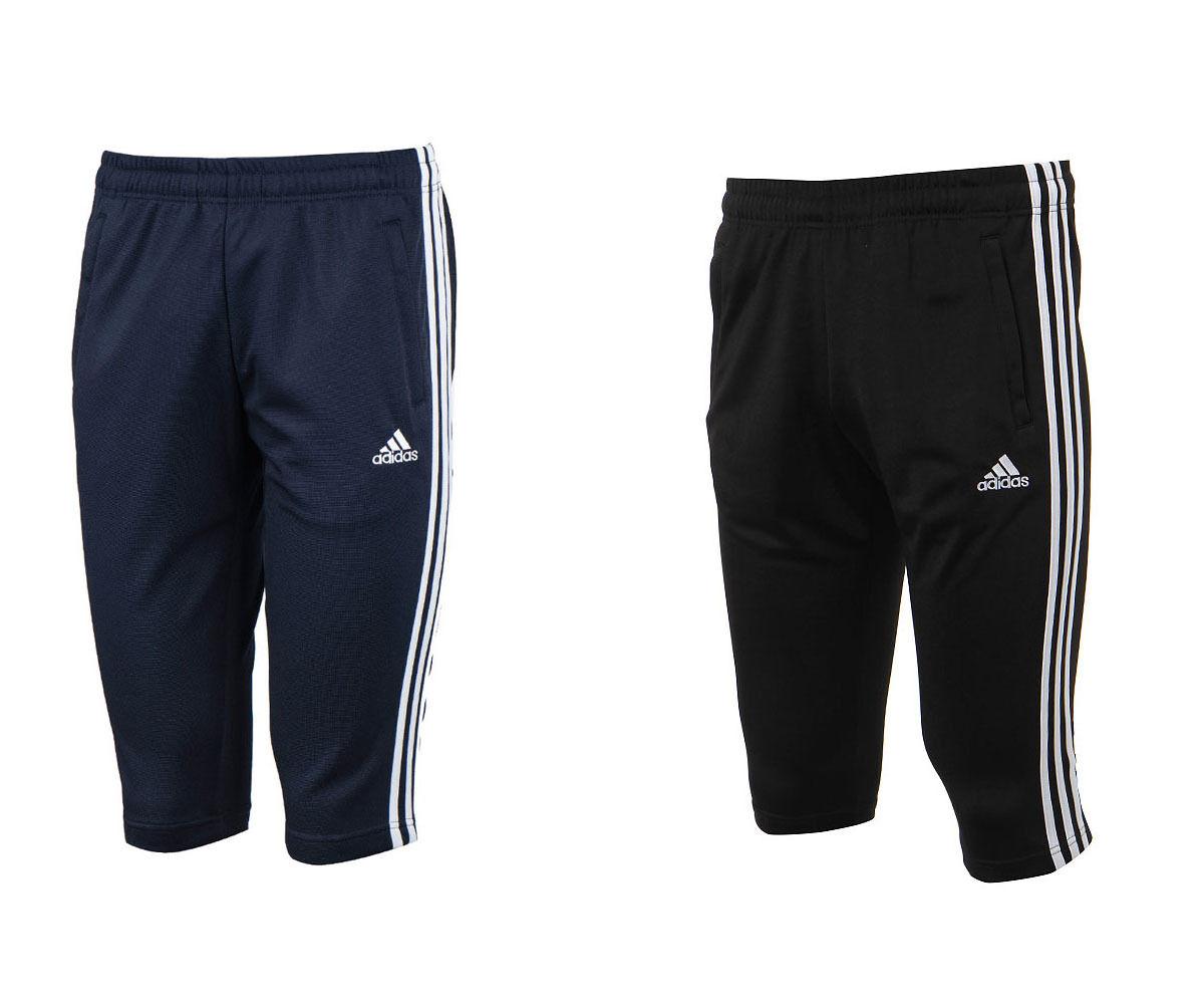 Adidas ATH 3S 3 4 Pants BI4516 BI4515 Soccer Football Training Climalite Shorts
